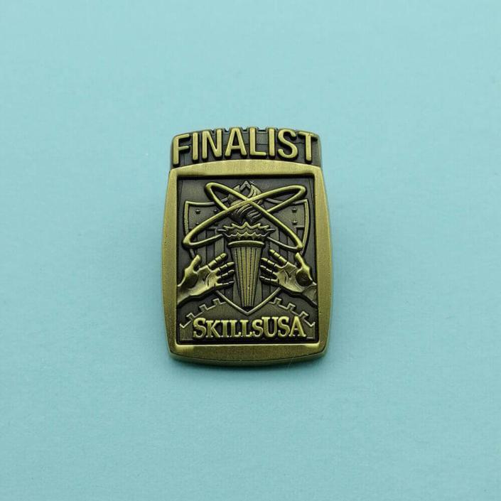 3D die-struck pin