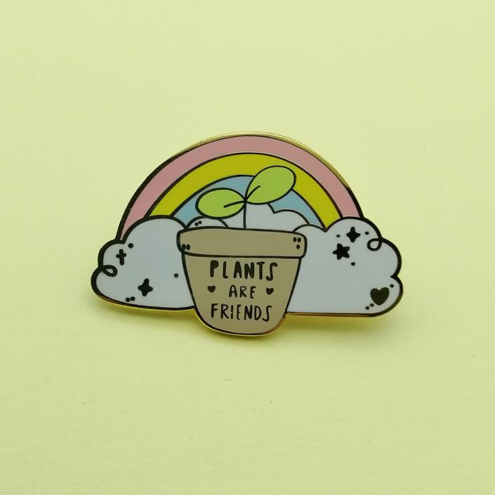 Custom enamel pin