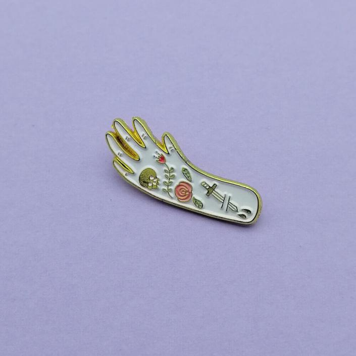 tiny enamel pin